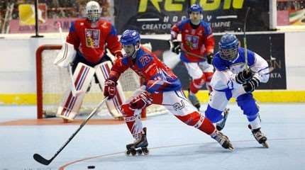 ces nations qui dominent le monde du roller hockey small