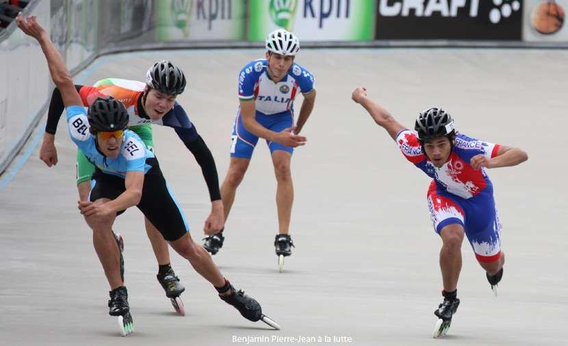 Les 500 m sur piste au championnat d'Europe de vitesse 2011 - juniors