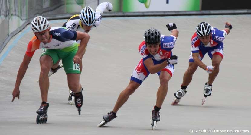 Les 500 m sur piste au championnat d'Europe de vitesse 2011 - seniors