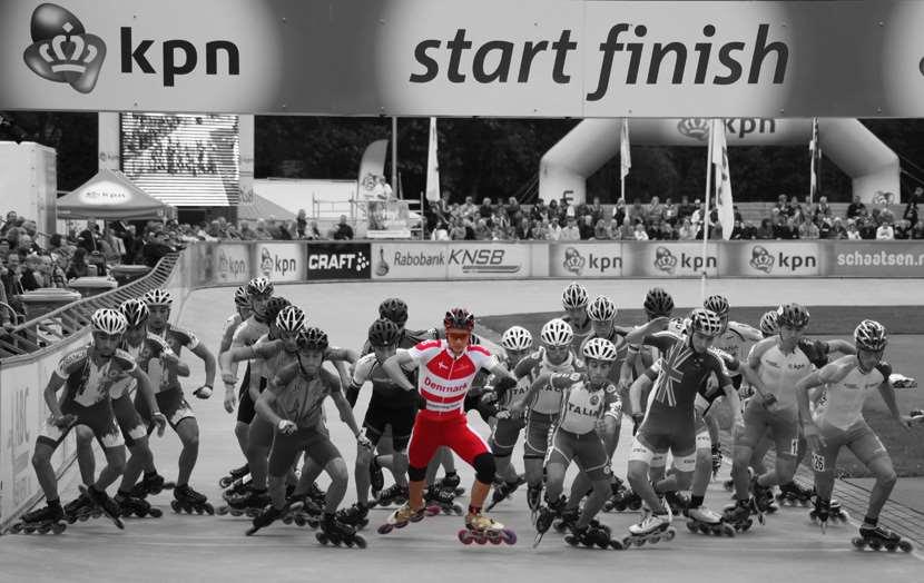 Championnat d'Europe : le patineur du Danemark