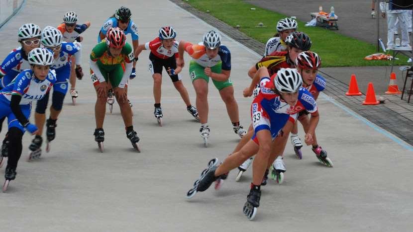 Victoire de nathalie Barbotin sur les courses à élimination du championnat d'Europe 2011