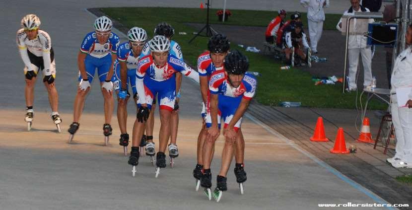Courses à éliminations hommes - championnat d'Europe 2011
