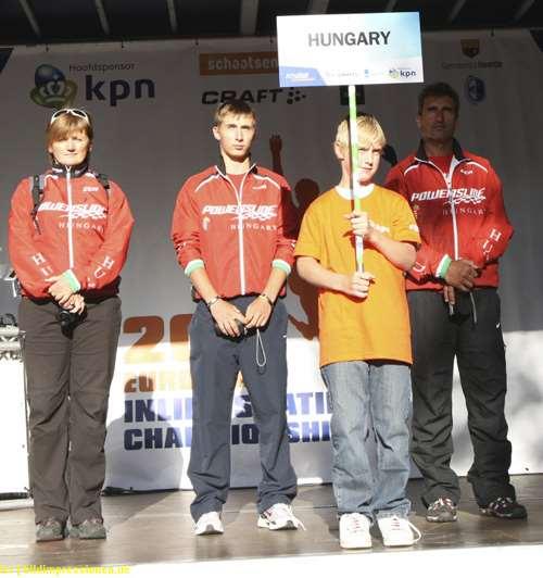 La délégation hongroise aux championnats d'Europe 2011