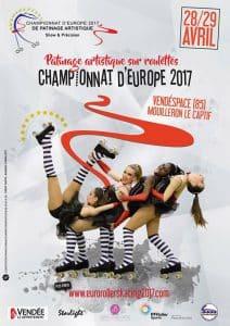 Championnat d'Europe de patinage de Groupe 2017 à Mouilleron-le-Captif (85) @  | Mouilleron-le-Captif |  |
