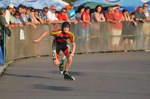Départ de 300m contre la montre au championnats d'Europe 2012