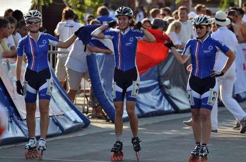 Les jeunes ouvrent la voie au championnat d'Europe roller course