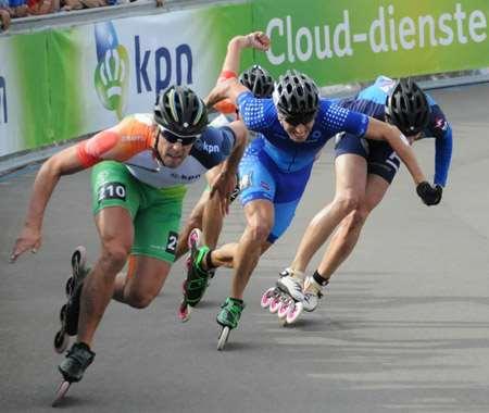 Championnat d'Europe roller course - seconde journée sur piste