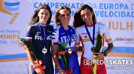 championnat europe roller course 2017 podium small