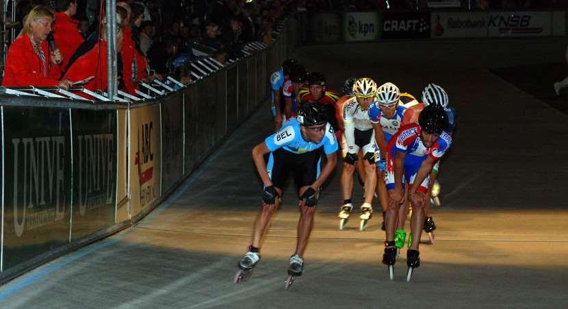 Courses de fond championnat d'Europe de vitesse 2011 points éliminations
