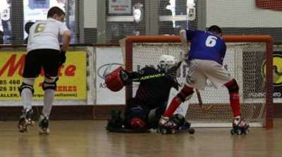 championnat europe u17 rink hockey 2016 petite finale france allemagne small