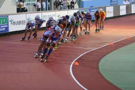 Championnat du monde de vitesse 2011 à Yeosu - points/élimination sur piste des dames