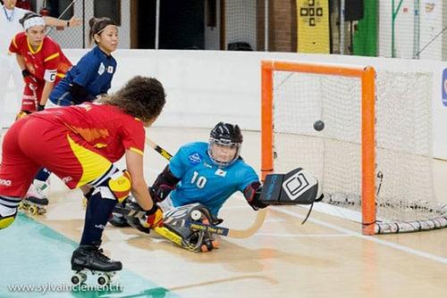 Mondial féminin rink hockey 2014 : Espagne - Japon
