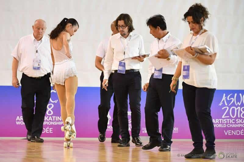 Figures imposées au mondial roller artistique 2018
