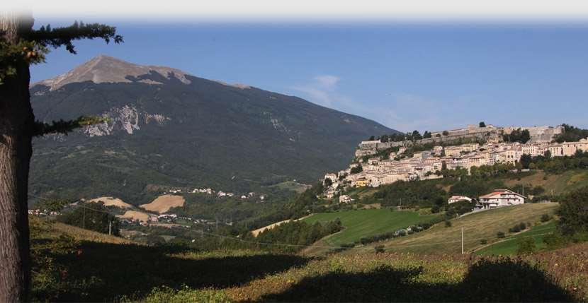 Beautiful landscape near San Benedetto del Tronto