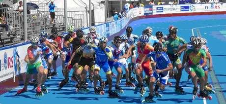 Championnat monde roller course 2012