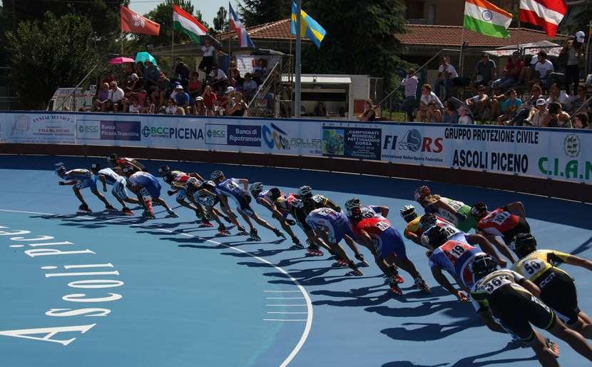 El campeonato mundial de patinaje de velocidad 2012 está abierto !