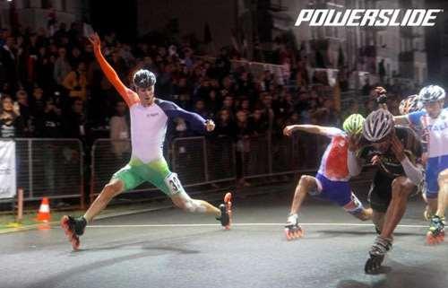 5000 m Relais sur route au mondial course 2012