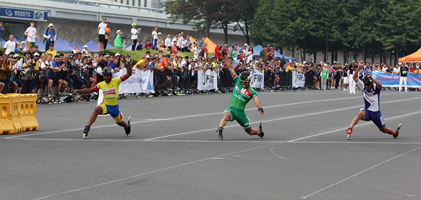 100 m seniors hommes