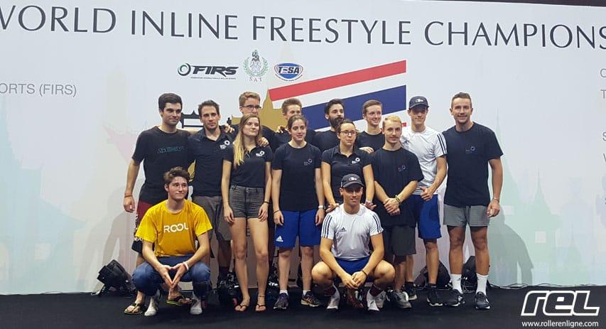 Championnat monde roller freestyle 2016 : equipe de france