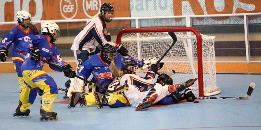 Mondial de roller hockey 2015 : Italiens et Tchèques font le show