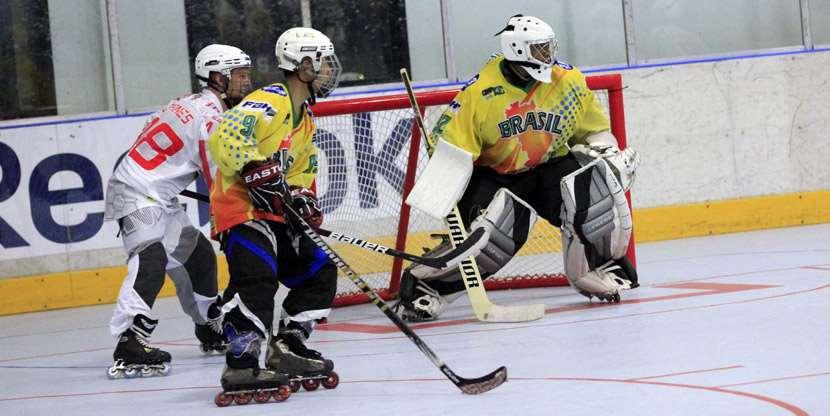 4ème journée du championnat du monde de roller-hockey junior 2013