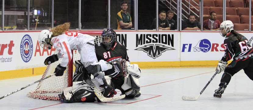 Première journée du championnat du monde senior de roller-hockey 2013