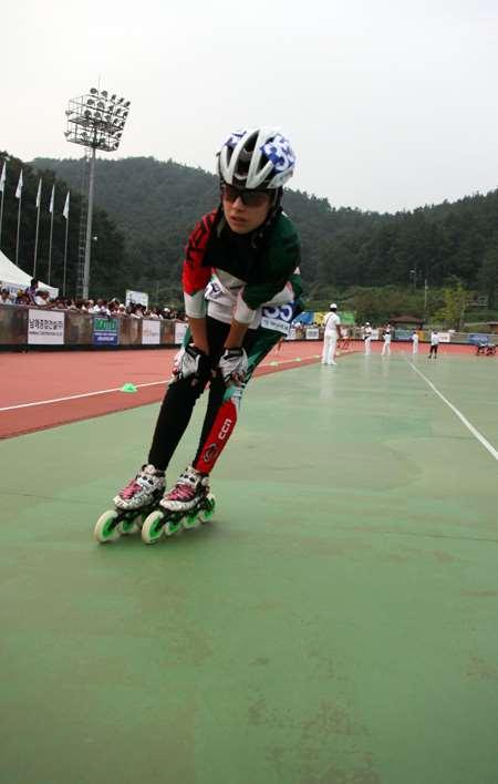Championnats du monde de vitesse à Yeosu, sur la piste