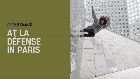 chihab chaher la defense roller freeride 2019