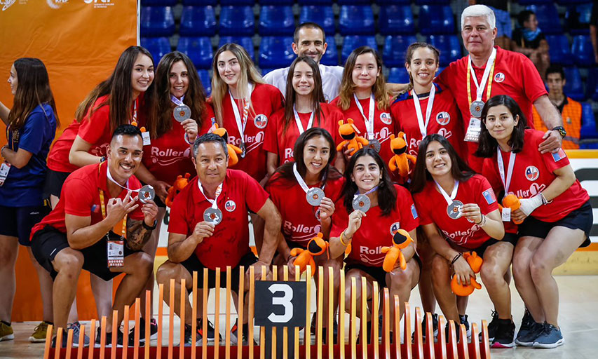 Le Chili, 3e du mondial féminin de rink hockey 2019
