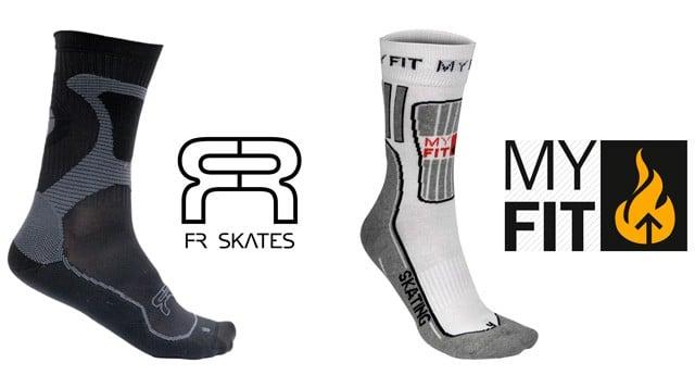 comparif fr nano socks powerslide myfit skating socks small
