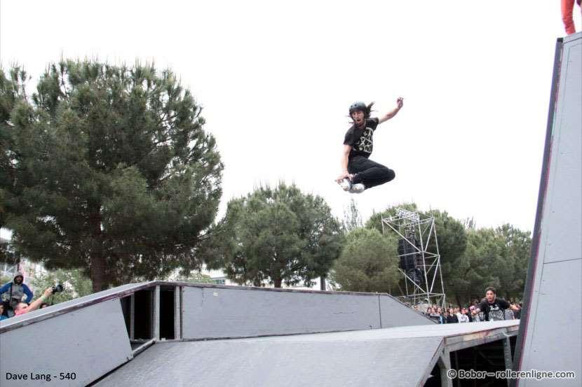 Dave Lang - 540° au FISE 2012