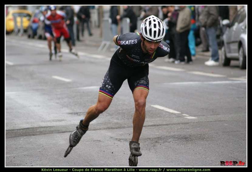 Coupe de France des Marathons Roller à Lille