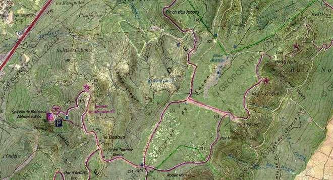 Carte Geoportail