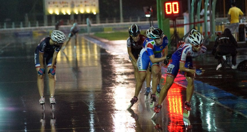 Championnat du monde roller course 2015