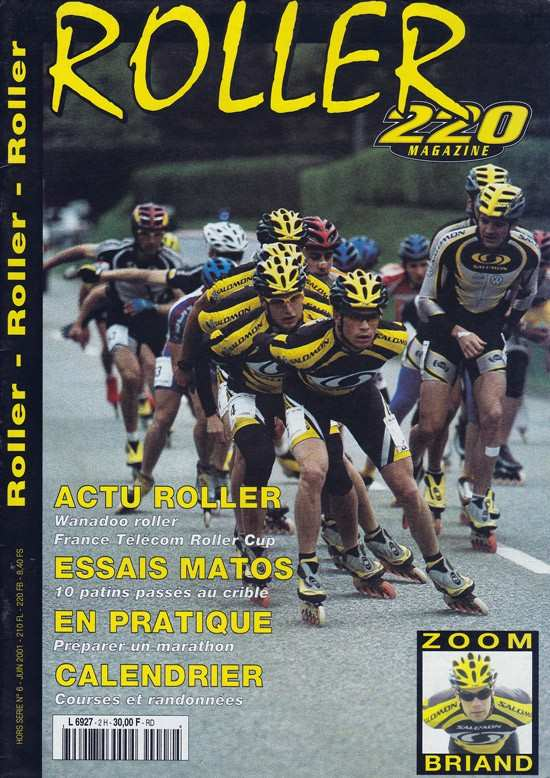 couverture 220 roller magazine hors serie 6