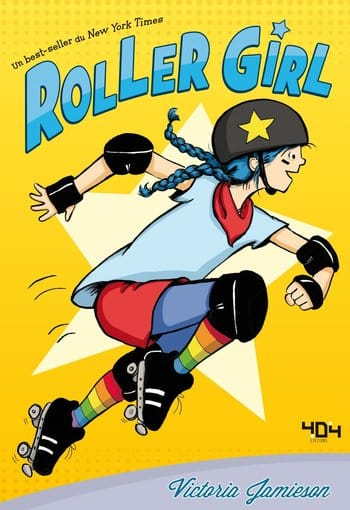 Couverture de roller girl