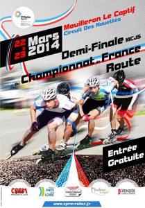 Demi-finale du championnat de France route à Mouilleron (85) @  | Mouilleron-le-Captif |  |