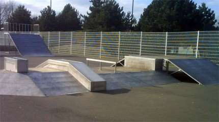 differents types modules skateparks small