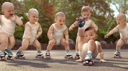 enfant apprendre roller small