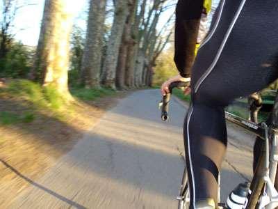 Le vélo, une alternative au roller pour récupérer et s'oxygéner