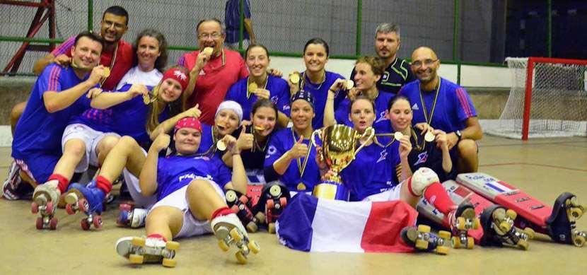 Les françaises championne du monde de rink-hockey !