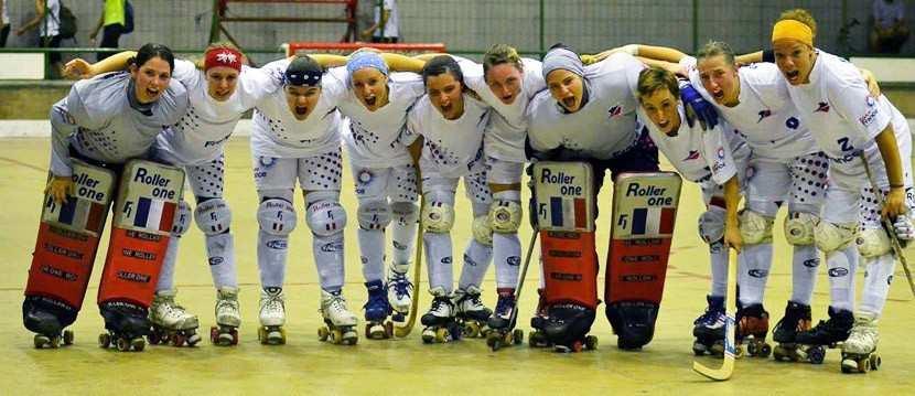 equipe france feminine rink hockey en finale mondial 2012