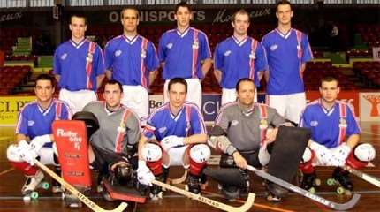 equipe france rink hockey 2011 small