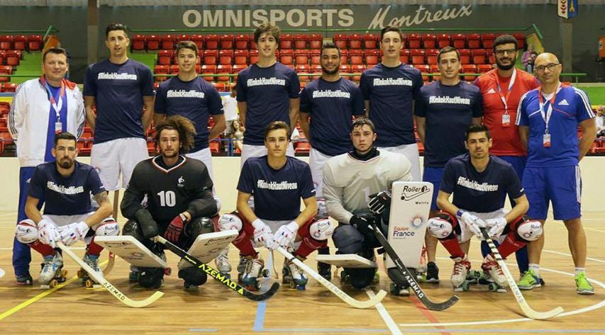 Equipe France rink hockey 2017