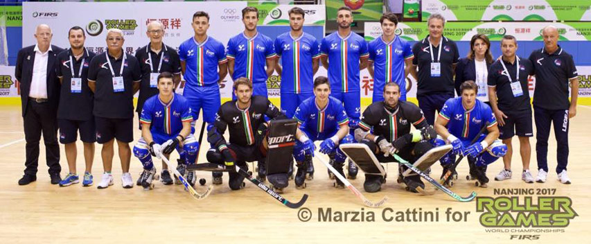 Equipe Italie Rink Hockey 2017