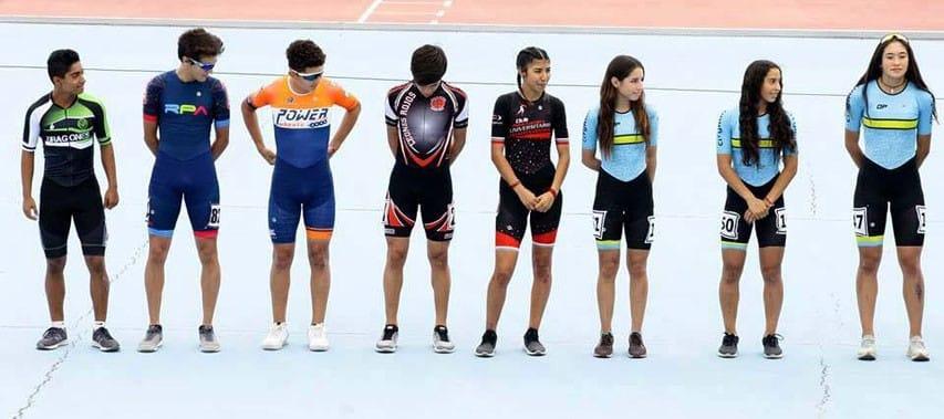 L'équipe junior de roller course 2019 du Chili