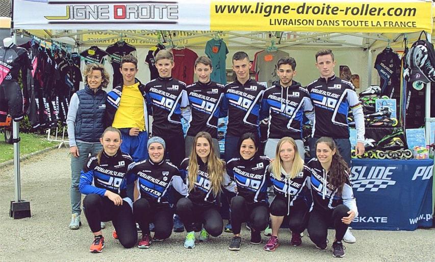 Equipe Ligne Droite 2017