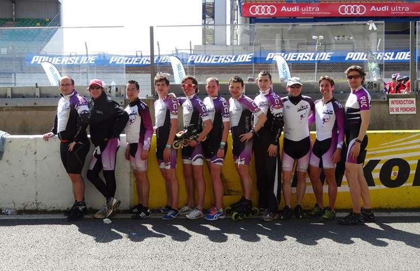 L'équipe du PUC au Mans 2013