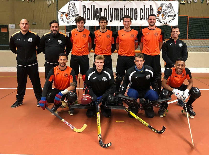 Le club de rink hockey de Vaulx-en-Velin