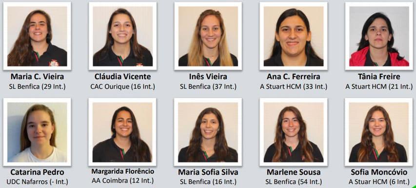 Equipe féminine de rink hockey du Portugal